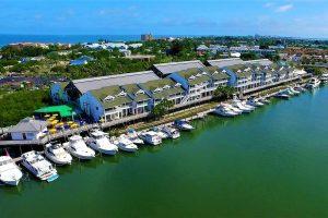 Harbourside Marina Aerial