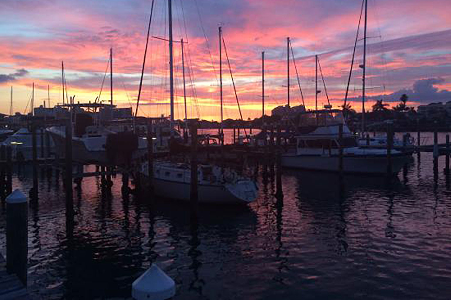 Charthouse Marina Sunset